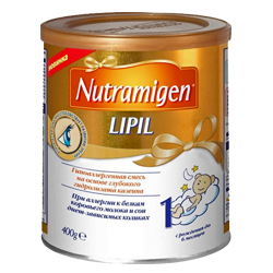 Гипоаллергенная смесь Enfamil Nutramigen Lipil 1, 400 г.