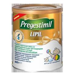 Гипоаллергенная смесь Enfamil Pregestimil, 400 г.