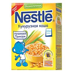 Каша безмолочная Nestle кукурузная