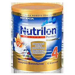 Молочная смесь Nutricia Nutrilon 4 junior с ванилью