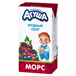 Морс Агуша Ягодный сбор
