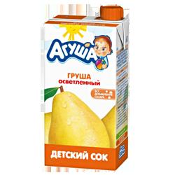 Сок Агуша Груша осветленный, 500 г.