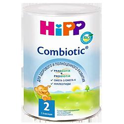 Сухая молочная смесь Hipp Combiotic 2, 800 г
