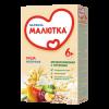 Каша молочная Nutricia Малютка мультизлаковая со смесью фруктов, 220 г.