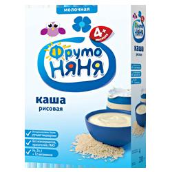 Каша Фрутоняня рисовая молочная