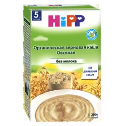 Каша Hipp органическая зерновая кукурузная без молока, 200 г.
