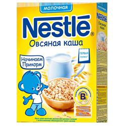 Каша молочная Nestle овсяная