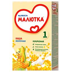 Каша молочная Nutricia Малютка кукурузная
