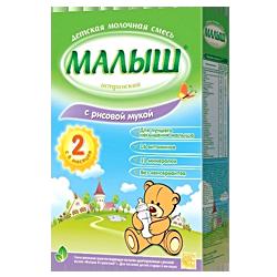 Молочная смесь Nutricia Малыш Истринский с рисом 2