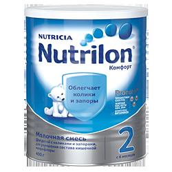 Молочная смесь Nutricia Nutrilon Комфорт 2, 400 г