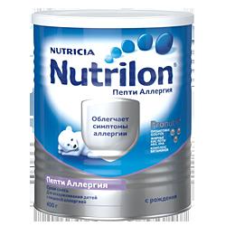 Молочная смесь Nutricia Nutrilon Пепти Аллергия, 400 г