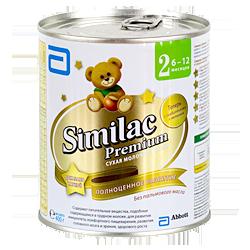 Молочная смесь Similac Премиум 2
