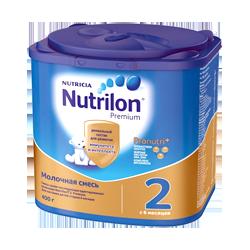 Смесь Nutrilon Нутрилон Премиум 2, 400 г