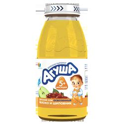 Сок Агуша яблоко-шиповник осветленный, 150 г.