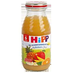 Сок Hipp Мультивитаминный, 200 г.