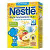 Каша молочная Nestle мультизлаковая с грушей и персиком